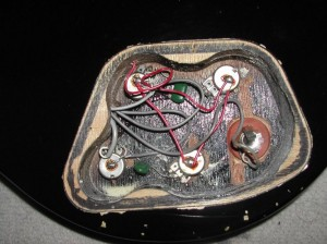 les paul pot wiring