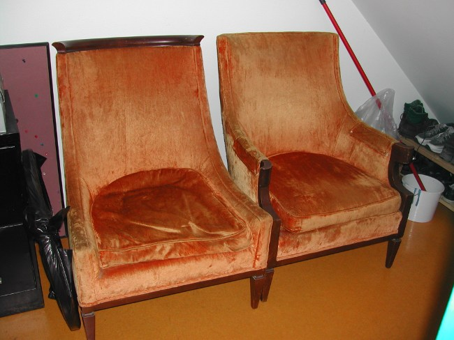 need to reupholster these chairs