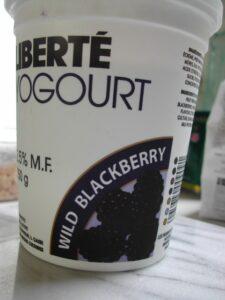 liberty blackberry yogurt