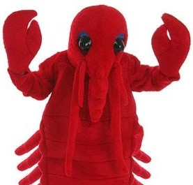 Lobster costume suit