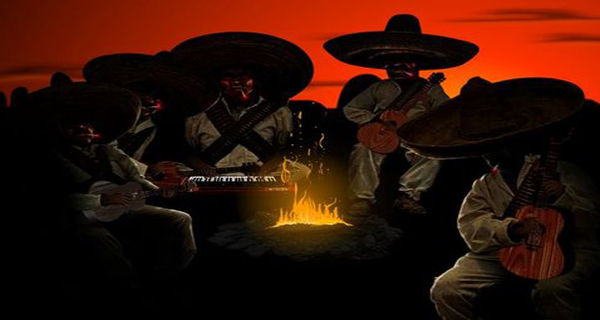 osada sleazy mexican outlaws bonfire guitars