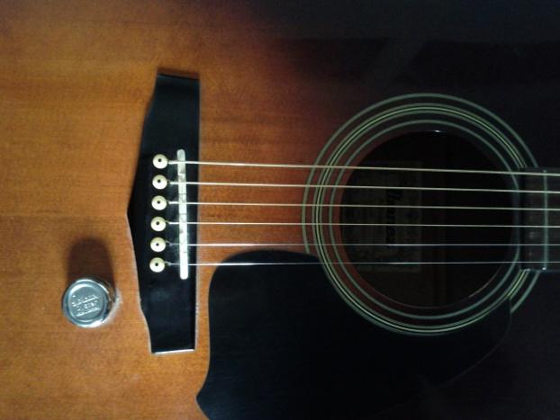 ibanez acoustic guitar bridge