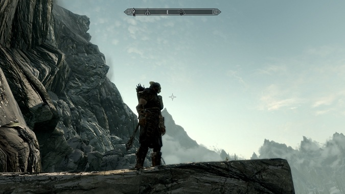 Some dude in Skyrim who's probably going to get raped by an Orc