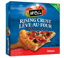 McCain Crescendo Rising Crust Pizza Deluxe
