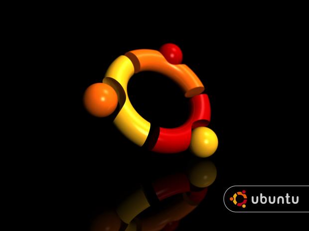 ubuntu logo black