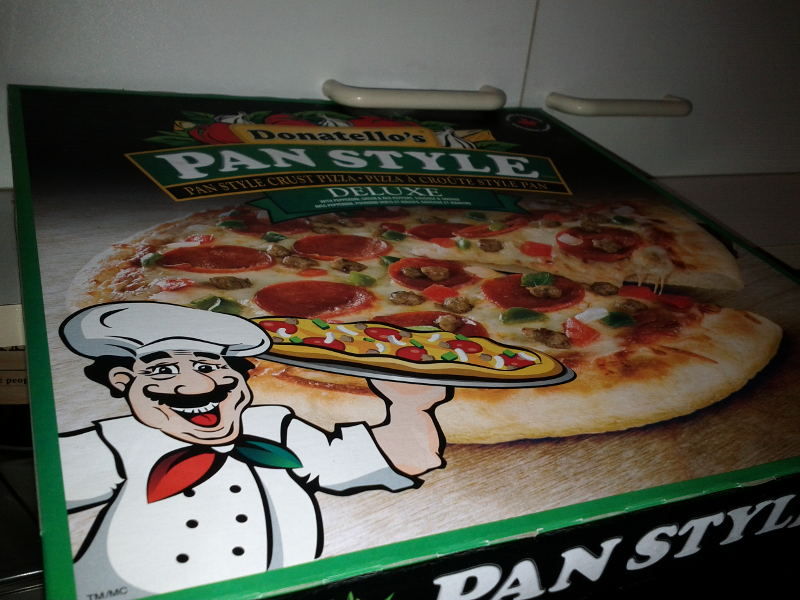 donatello pan style pizza